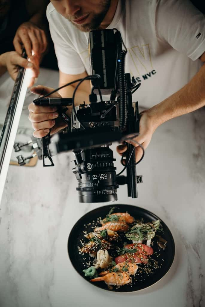 Sous Chef Photographing Meal For Specs