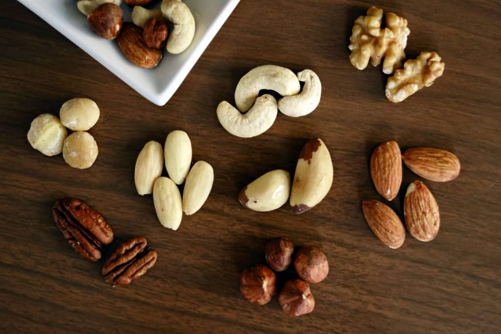 Brown Nuts Selection