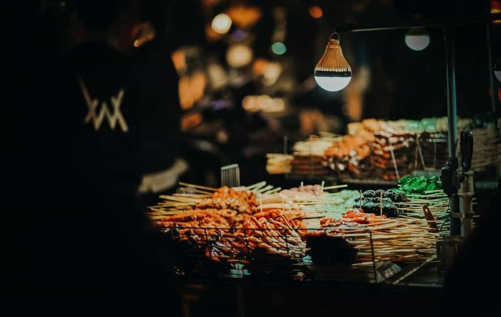 Street Food Business Stool