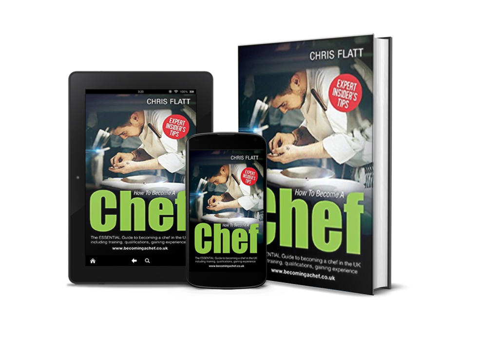 How to become a chef mix cover