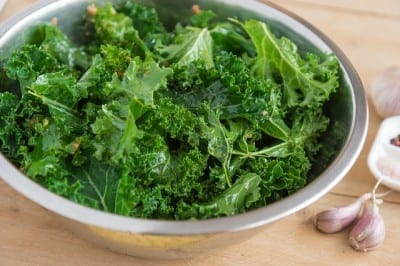 Green Kale Vegetable For Sauces