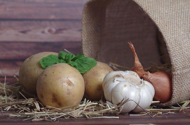 Onion And Potatoes