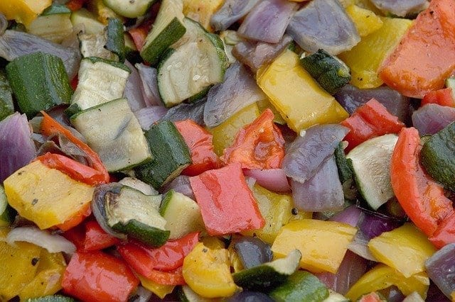 Pepper Courgette