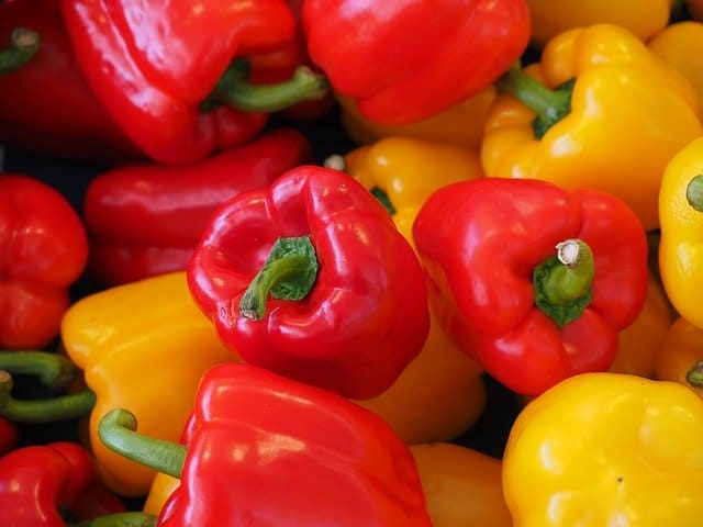 Mixed Whole Bell Peppers