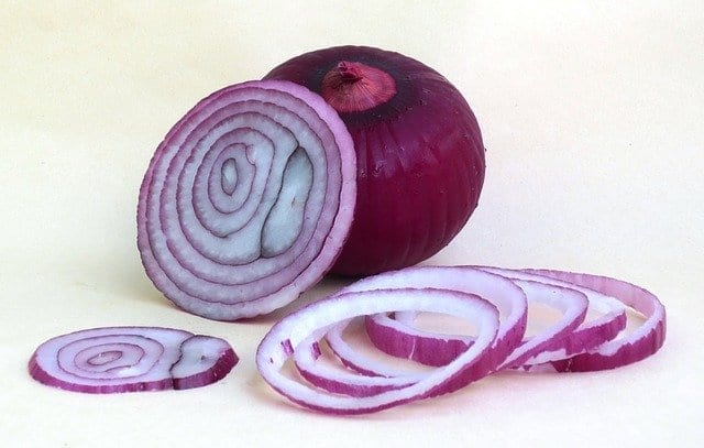 Red Onion Sliced And Whole