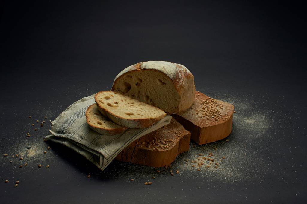 Baked Bread Sliced