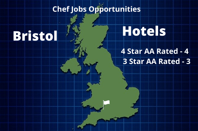 Hotel Chef Jobs Opportunities Bristol Infographic