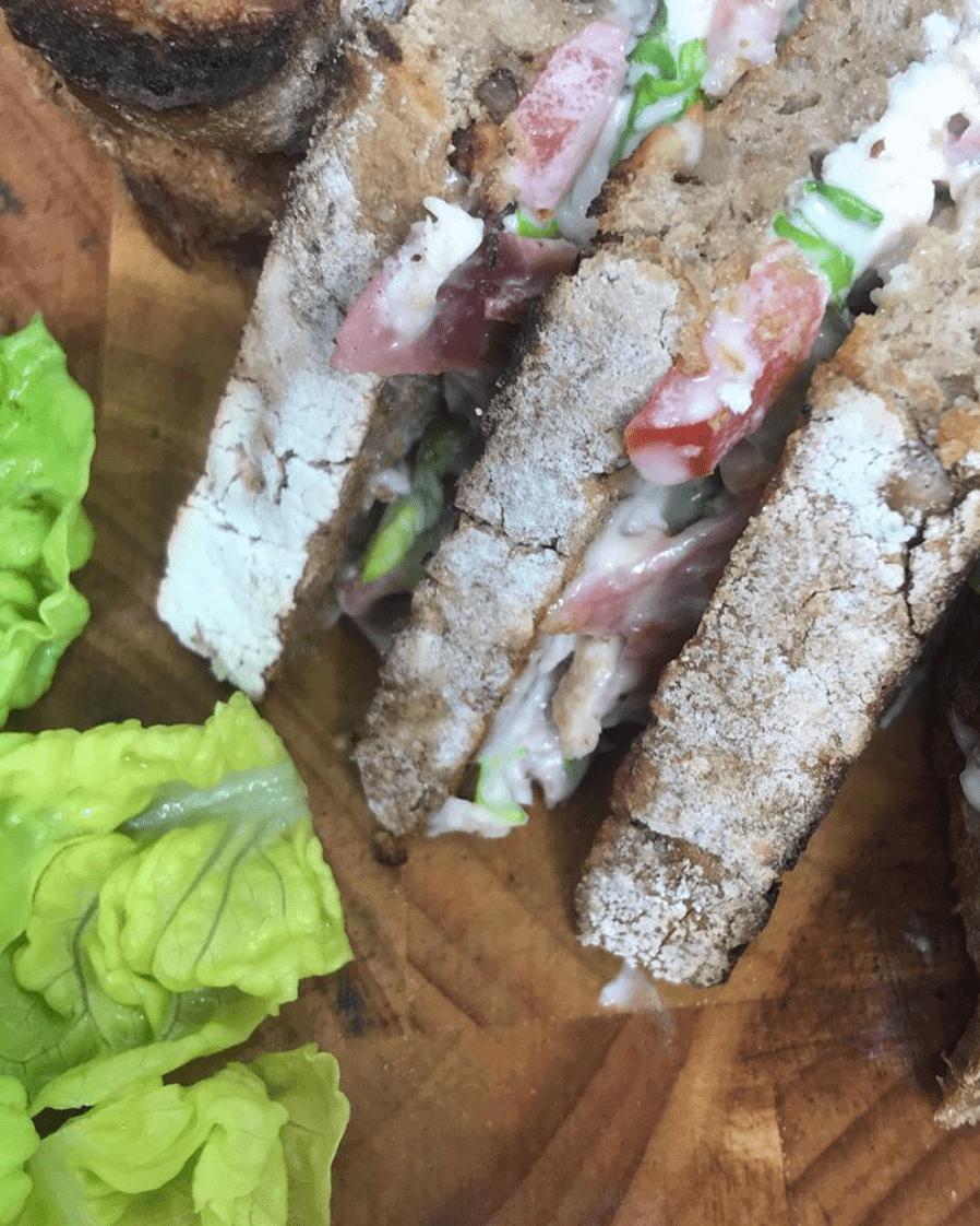 Ceasar Sandwich