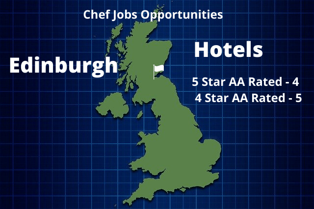 Hotel Chef Jobs Edinburgh Opportunities Infographic