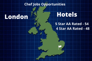 London Hotel Info Graphic