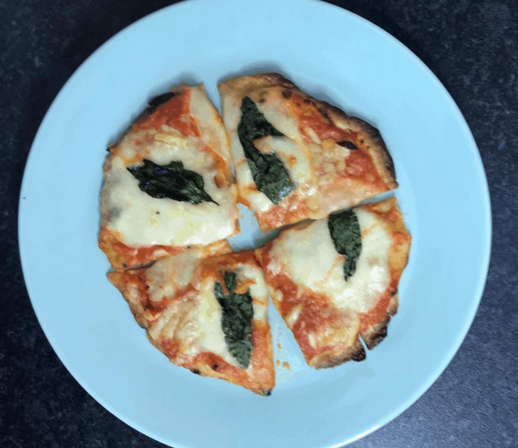 Mozzarella Tomato Basil Pizza