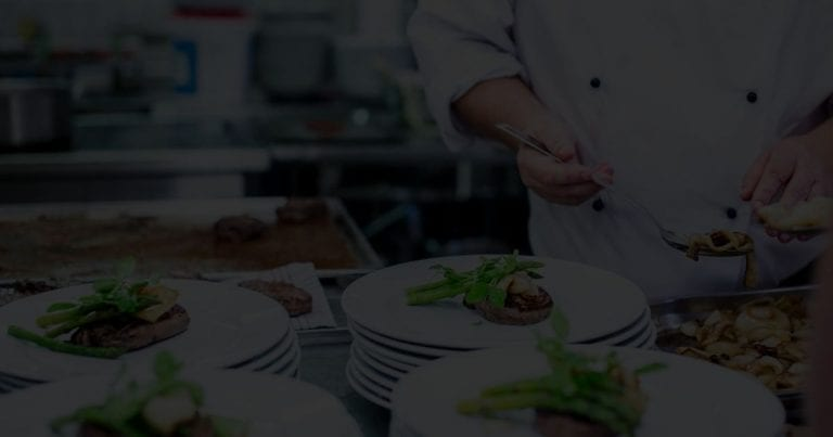 Chef De Partie Plating Food