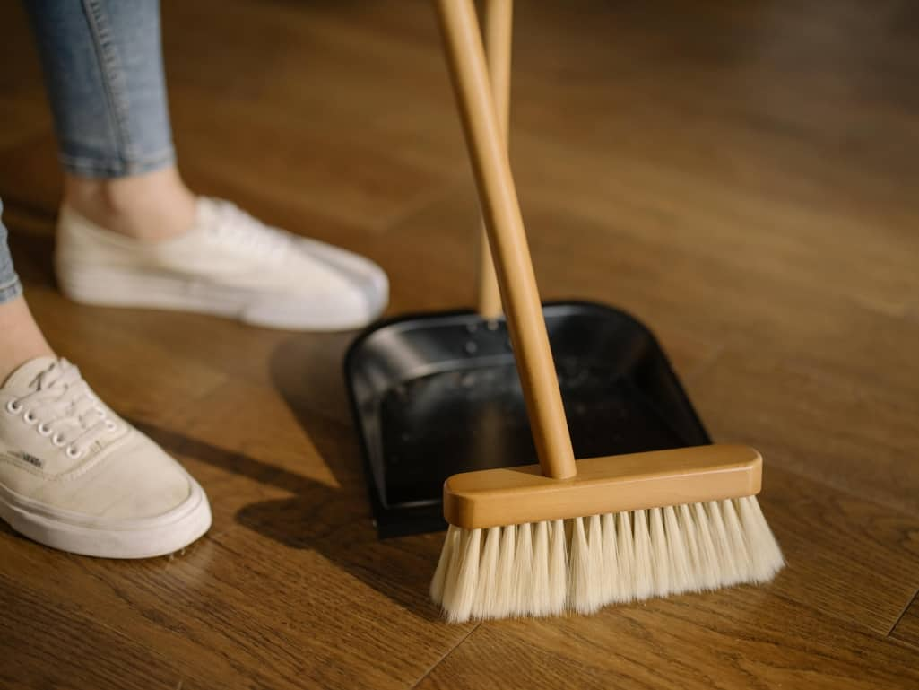 Sweeping The Floor