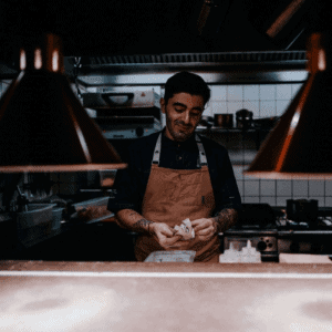 Private Chef In Kitchen